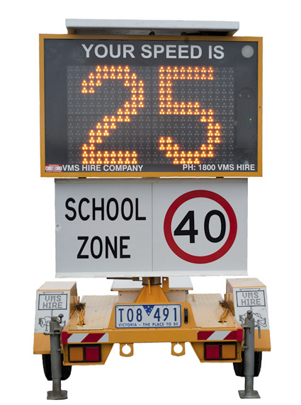 Speed Advisory VMS Boards