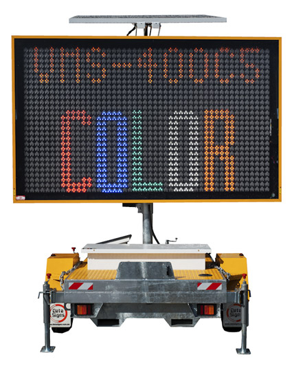 VMS 340B Sign with Message Changeable functionality